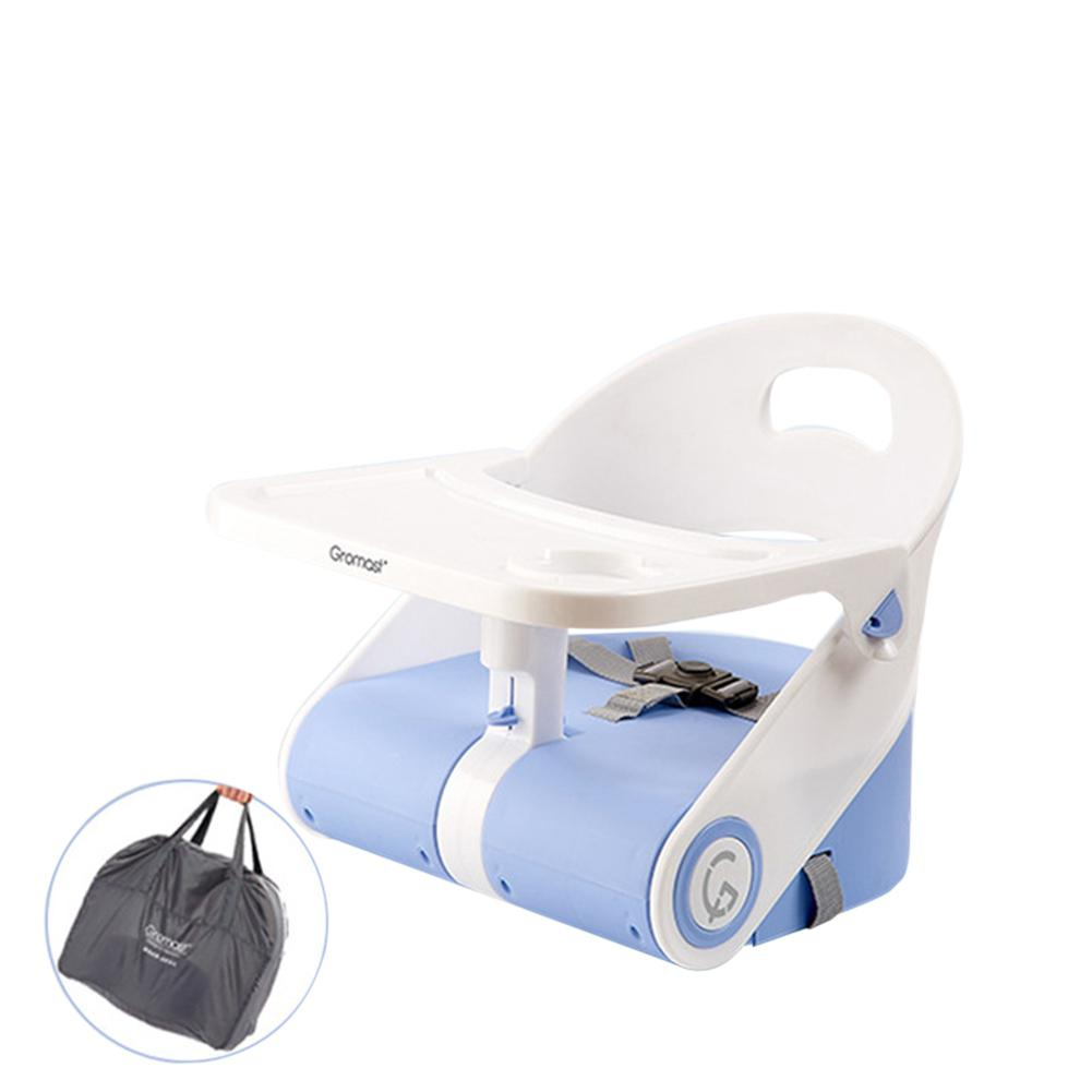 Kidlove Portable Foldable Travel Feeding Dining Booster High Chair For Baby Children Feeding Chair Adjustable Dinning Table