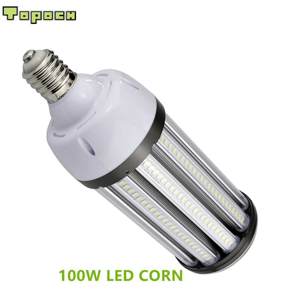 Topoch LED Replacement Bulbs 100W 12,000 LM UL DLC Listed 400W MHL/HPS Retrofit Mogul E39 Base IP64 Outdoor Indoor Area Lighting topoch led corn bulb street light 54w 6500 lm ul dlc listed hid replacement mogul e39 base ip64 outdoor indoor area lighting