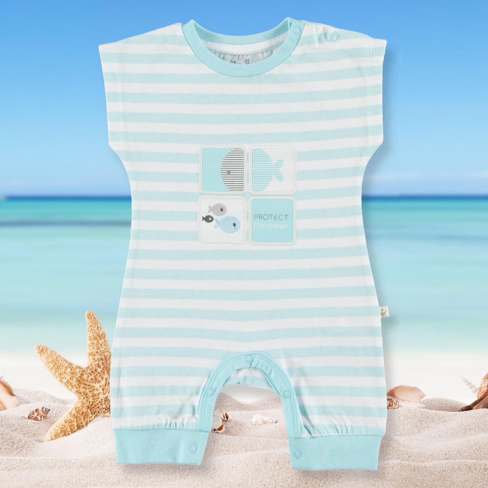 For My Baby Nemo Rib Romper