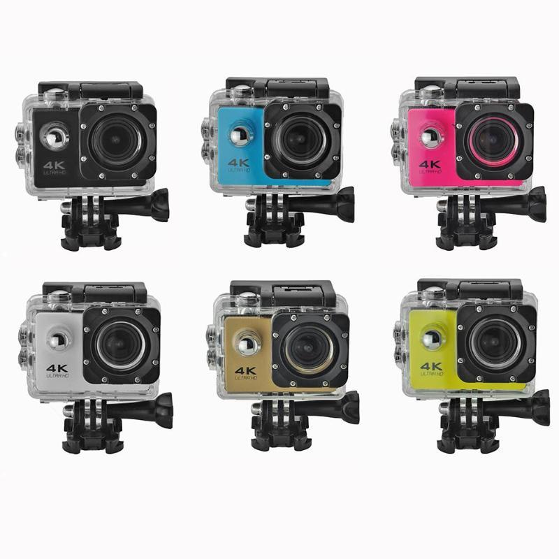 Nachdenklich 4 Karat Action Kamera Original F60 Fern Wifi 2,0 Inch Lcd 1080 P 170d Objektiv Helm Unterwasser Wasserdichte Camcorder Einfach Zu Reparieren Sport & Action-videokameras