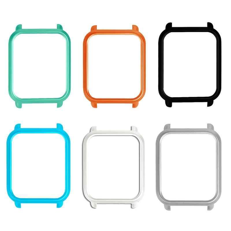 شعبية الملحقات الذكية الغبار واقية حامي الإطار الملونة حالة غطاء قذيفة ل Xiaomi Huami Amazfit بيب تيرة الشباب ووتش