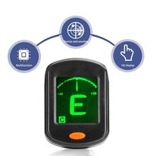 AT-101 Digital Clip Type Electric Guitar Tuner Foldable High Sensitivity Rotating Accessories Portable New
