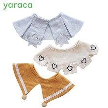 3 шт. нагрудники для кормления мягкие хлопковые муслиновые нагрудники для детей милый детский шарф дышащий фартук для мальчиков и девочек