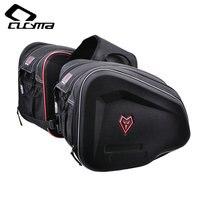 WOSAWE Motorcycle Saddle Bags Travel Knight Rider Black For Harley Moto Motorcycle bags EVA 36 55L 44.0 cm * 33.0 cm * 12.0 cm