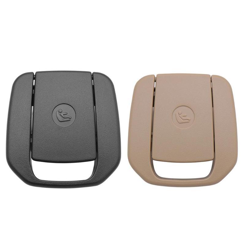 Car Rear Seat Hook ISOFIX Cover Child Restraint For BMW X1 E84 3 Series E90/F30 1 Series E87 Black / Beige