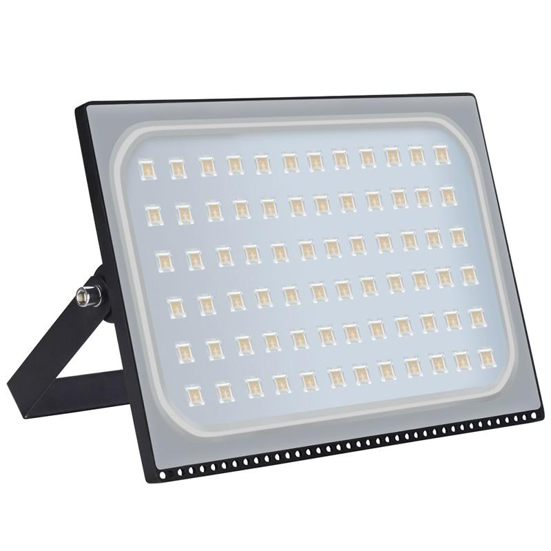 5Pcs Ultrathin LED Flood Light 500W LED Floodlight IP65 Waterproof 220V 110V 500 watt LED Spotlight Outdoor Lighting|Floodlights| |  - title=