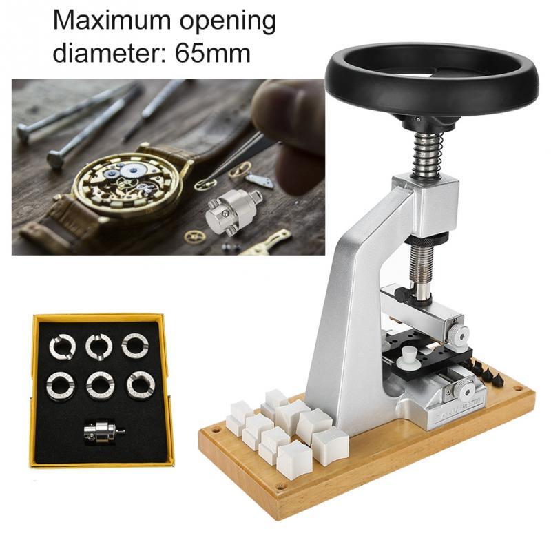 Saatler'ten Onarım Araçları ve Kitleri'de Yeni 5700 Tezgah İzle Vaka Açıcı Kol Saati Aracı Geri Açacağı 6 Dies ile Rolex İzle tamir parçaları araçları saatçiler'da  Grup 1