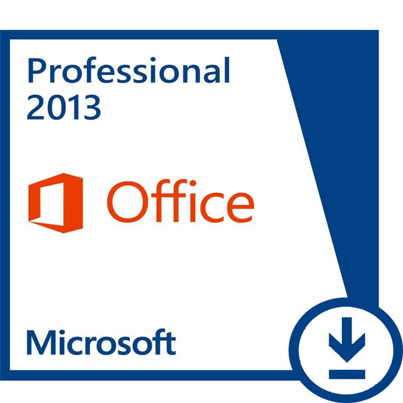 Microsoft Office Professional 2013 Retail Box With DVD For Windows