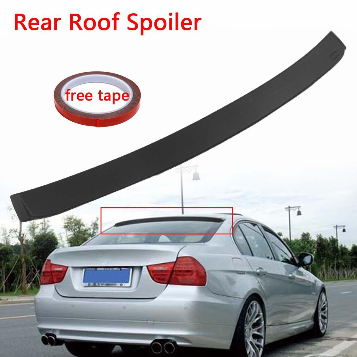 For BMW E36 3-Series 4D Sedan K Type Trunk Lip Spoiler 91-98 318i Unpaint