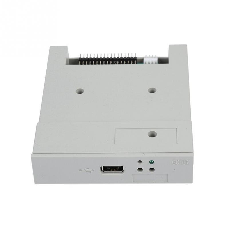 """TWO GOTEK 3.5/"""" 1.44MB SFR1M44-U100K USB SSD Floppy Drive Emulators Black"""