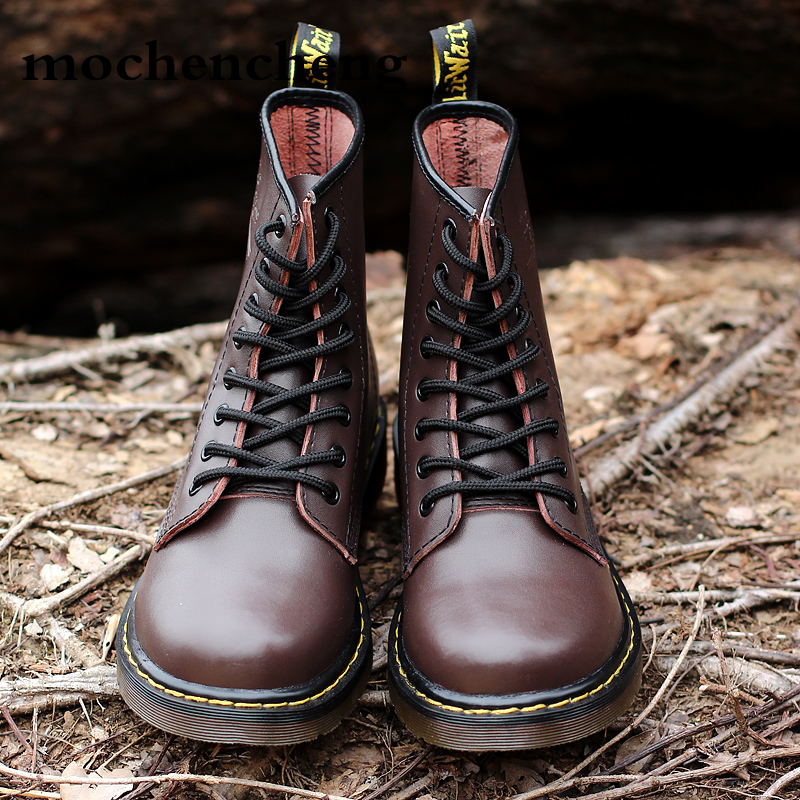 Doc Marts Chaussure Martens Men Shoes Ankle Boots Men Winter Boots Homme Top Quality Mtins Boots Work Boots With Steel Toes Men's Shoes Motorcycle Boots