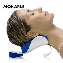 цена на Neck Massager Pillow Cervical Vertebra Pain Relief Massager Neck Back Shoulder Health Care Relieve Dual Trigger Point Training