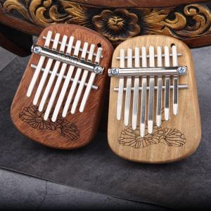 Image 3 - GECKO 8 Key Mini Kalimba African Camphor Wood Mahogany Thumb Piano Finger Percussion Keyboard Mbira Sanza Musical Instrument