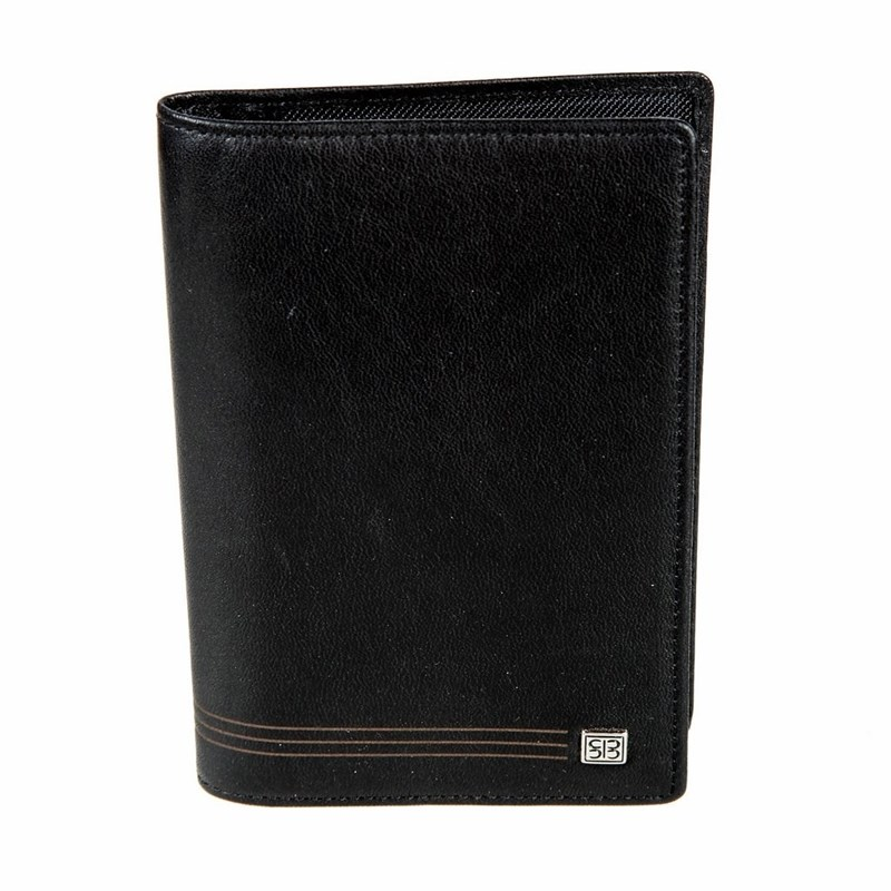 Card & ID Holders SergioBelotti 1423 west black визитница card holders multi id 1223