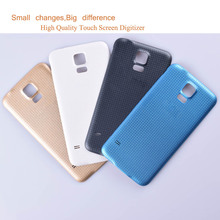 10Pcs/lot For Samsung Galaxy S5 i9600 G900F G900H SM-G900F G900 Housing Battery Cover Back Case Rear Door Chassis Shell