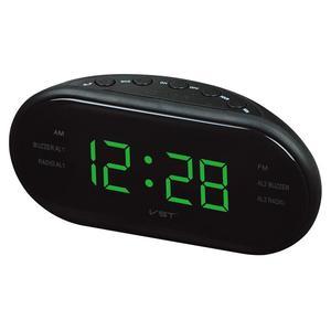 Image 3 - Przenośny głośnik LED cyfrowy budzik zegar AM/FM podwójny kanał Radio odtwarzacz wielofunkcyjny Stereo Hd dźwięki urządzeń biuro w domu