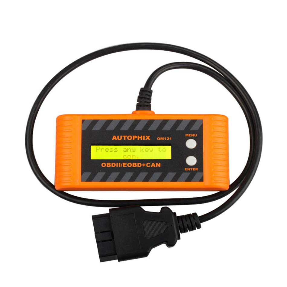 Car OBD2 Auto Scanner Autophix OM121 EOBD obd 2 obd2 CAN Scan tool Code Engine Reader with LCD P2P Interface Diagnostic-tool quicklynks t80 jobd obd2 eobd color display auto scanner t80 for japan cars wider vehicle coverage with can protocol support