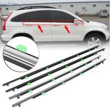 Автомобильная наружная оконная формовочная обшивка уплотнительная лента для Honda CR-V 2007 2008 2009 2010 2011