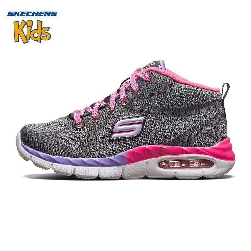 SKECHERS Skye Strange Girl Shoes Net Cloth Collision Shoelace Comfortable Motion Casual Shoes #81711L-BLVP/NVPW skechers skechers sk261agicb98