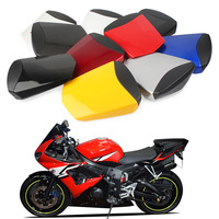 Motorcycle Rear Pillion Passenger Cowl Seat Back Cover Fairing Parts For Yamaha YZF R6 2003 2004 2005