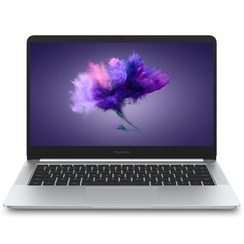 HUAWEI Honor MagicBook 14 pouces Windows 10-OEM Pro Ordinateur Portable AMD Ryzen 5 2500U 2.0 GHz 8 GB 256 GB SSD portable Argent Type-c CN Plug