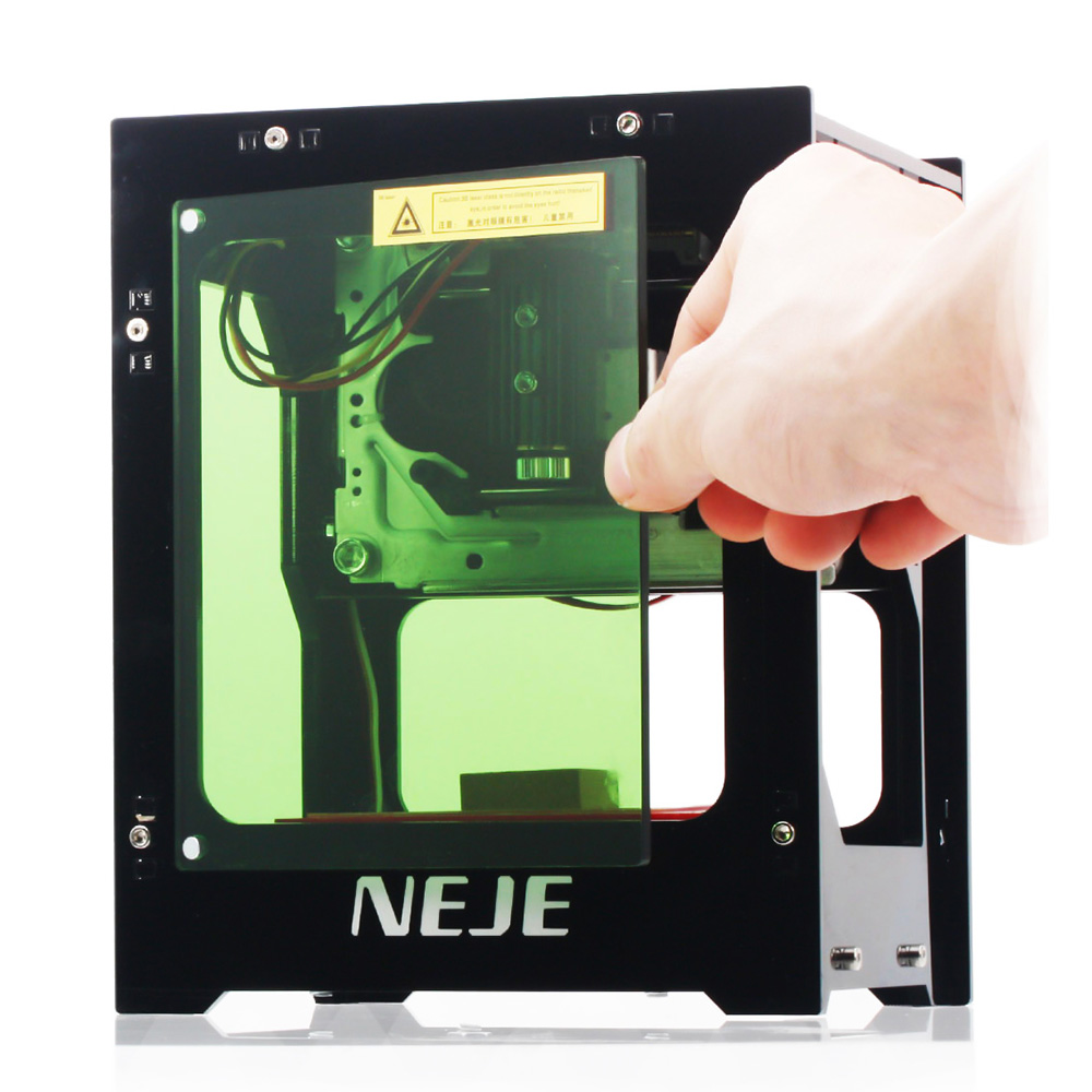NEJE DK-8-KZ 3000mW CNC Laser Engraving Machine for Wood/Metal/PVC/Rubber with Offline Operation