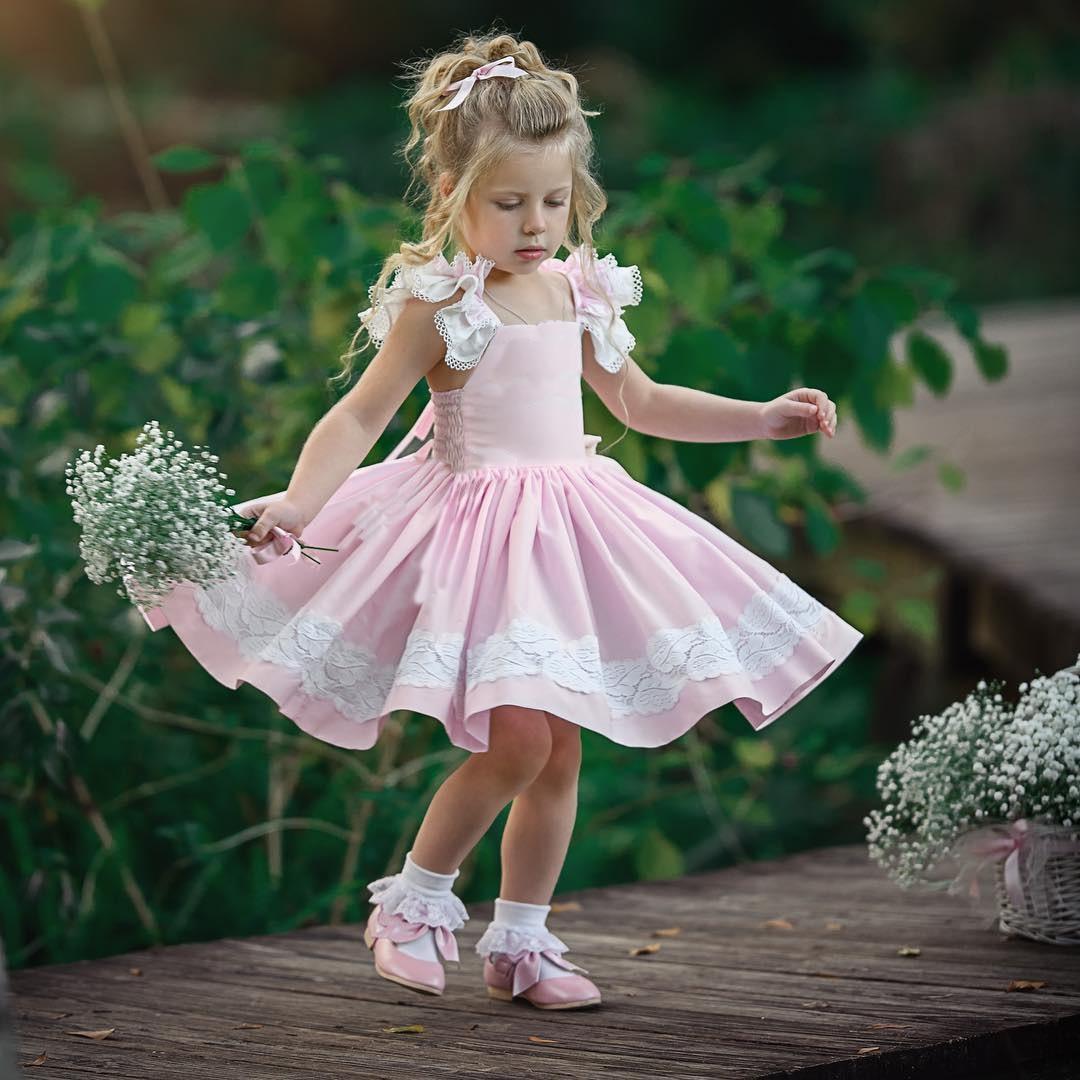 pudcoco toddler baby girls sleeveless tutu dress party