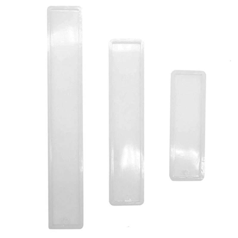Set Of 3 Silicone Bookmark Mold For Jewelry Craft Making Diy Bookmark