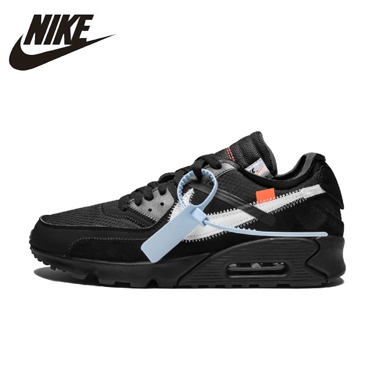 quality design 824f5 d6715 NIKE AIR MAX 90 Original Mens Running Shoes Breathable Stability Footwear  Super Light Sneakers For Men