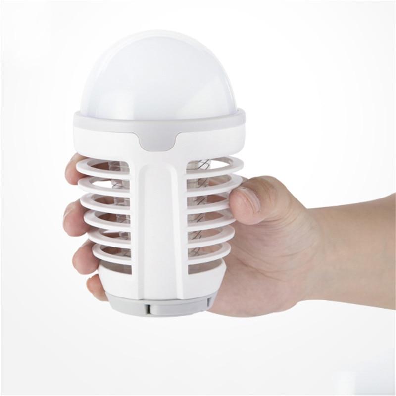 5 W LEVOU USB Lâmpada Assassino Do Mosquito Lâmpada Mosquito Dispeller Repeller Insect Elétrica Bug Zapper Pest Armadilha de Luz Acampamento Ao Ar Livre