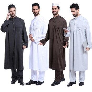 299a4d368 Musulmán trajes ropa islámica hombres Hui desgaste de los hombres de ...