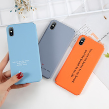 Sweet Words Phone Case For iPhone 8