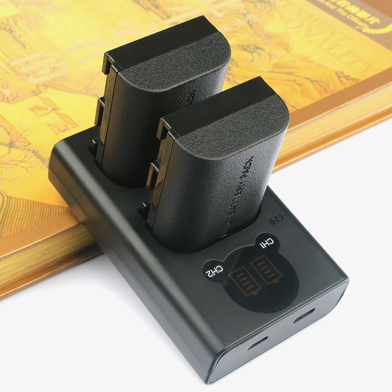 LP-E6 LP-E6N batterie de remplacement (2 paquets) et LED intelligent double chargeur USB pour Canon EOS 5D Mark II III IV 5DS 5DS R 6D 7DLP-E6 LP-E6N batterie de remplacement (2 paquets) et LED intelligent double chargeur USB pour Canon EOS 5D Mark II III IV 5DS 5DS R 6D 7D