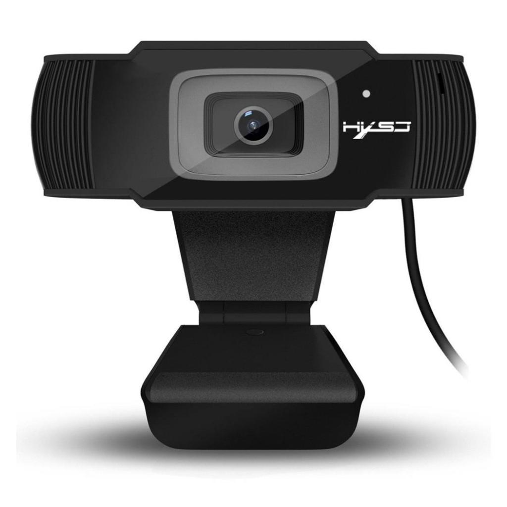 S70 HXSJ Webcam HD Web Camera with Mic USB 1080P Clip-on for Computer logitech c170 setup 5 0mp wired camera usb webcam web camera w mic