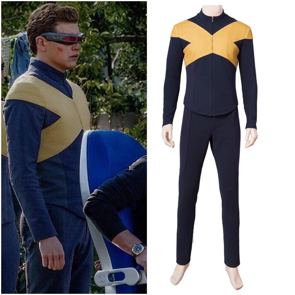 X-Men Dark Phoenix Cyclops Scott Summers Cosplay Costume Version 1