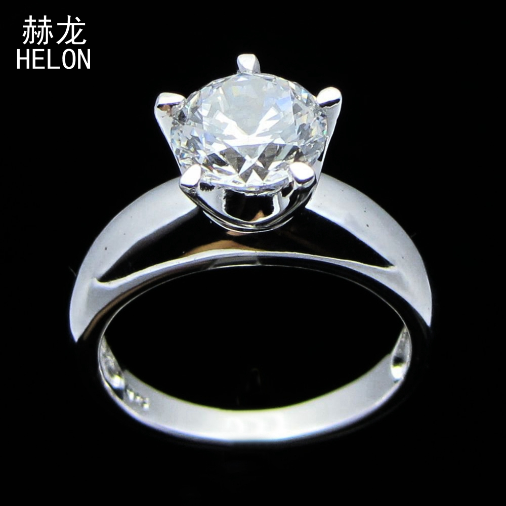 Flawless 8mm Round Cut 925 Sterling Silver Genuine AAA Graded Cubic Zirconia Exquisite Engagement Wedding Women Jewelry RingFlawless 8mm Round Cut 925 Sterling Silver Genuine AAA Graded Cubic Zirconia Exquisite Engagement Wedding Women Jewelry Ring
