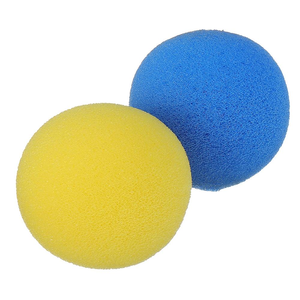 10 pièces ensemble magique douce éponge jaune couleur astuce balle gros plan accessoires Clown nez doux nouveauté Gags enfants enfants accessoires magiques