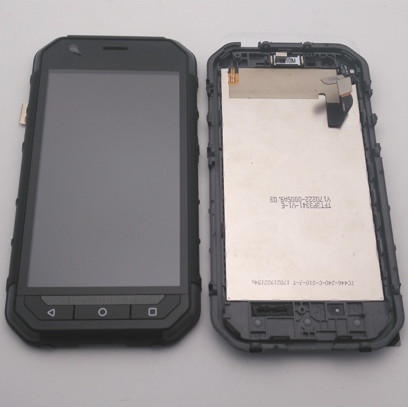 Original For Caterpillar CAT S30 LCD Display Touch Digitizer Screen Assembly With Frame Replacement Parts tools