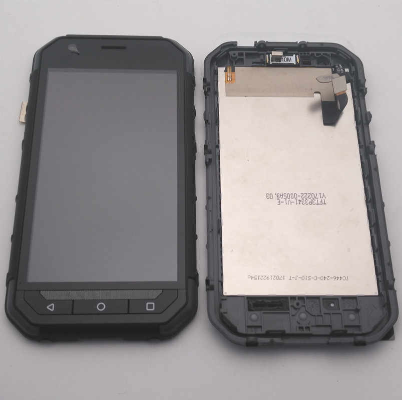 100% Tested For Caterpillar CAT S30 LCD Display+Touch Digitizer Screen  Assembly With Frame Replacement Parts+tools/adhesive
