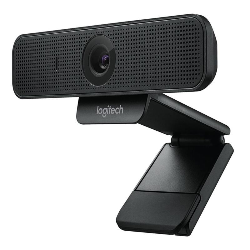 Logitech C925e 1080 P 60Hz Full HD Webcam Embutida Microfone Autofoco Câmera de Computador Web Conferência Dedicada Câmera de Privacidade