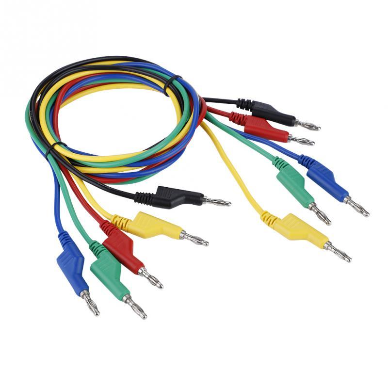 Heim-audio & Video Unterhaltungselektronik Multimeter Banana Stecker Zu Test Haken Draht Kabel Für Elektrische Prüfung 1 M