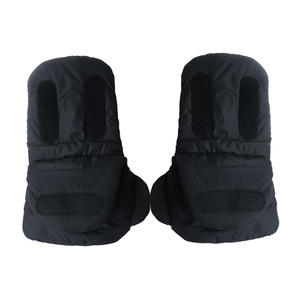 1 Pair Winter Pram Stroller Gloves Accessory Coupler Hand Cart Muff Warm Fur Fleece Gloves Pushchair Hand Muff Kids Buggy Clutch