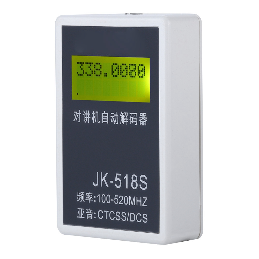 CTCSS/DCS Decoder LCD Display Frequency Counter Meter For Walkie Talkie 100-240V US On Sale