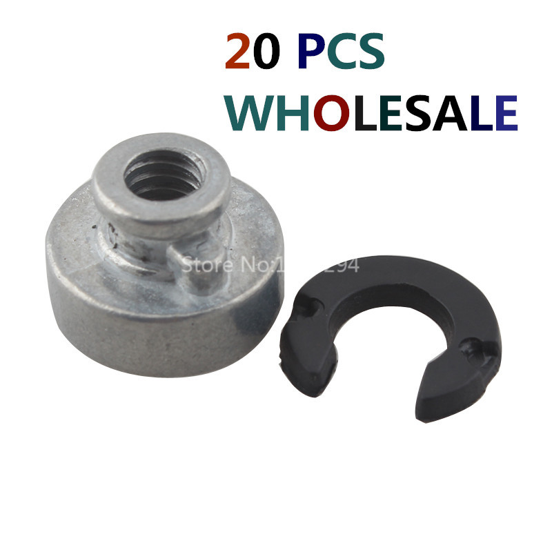 20 PCS WHOLESALE Fender Seat Nuts Seat Mounting Kits Fit For Harley Motorcycle Models 59768 97