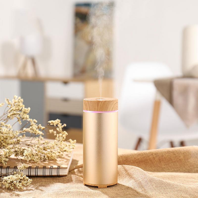 150ml USB Aluminum Alloy Humidifier Portable Hydrating Beauty Spray Desktop Gift Mini Aroma Diffuser Car Air Humidifier