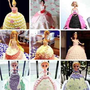 8\'\' Cake Mold Decorative Semicircle Princess Doll Dress Cake Pan Cake Baking Pan