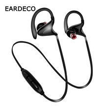 EARDECO IPX7 Waterproof Wireless Headphones Bluetooth Earphone Headphone Stereo Earphones Bass Headset Mic Earpiece