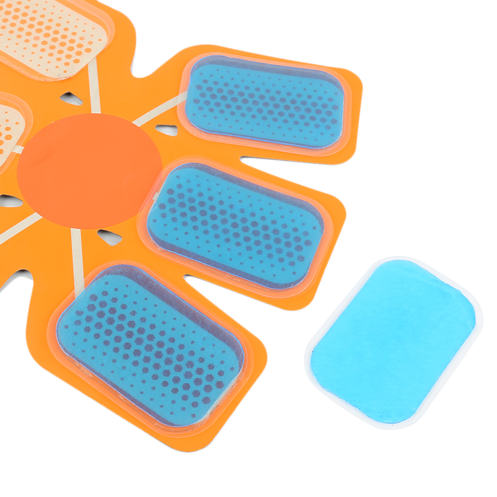10/6/2 Pcs Abdominal Muscle Hydrogel Pad Exercise Machine Patch Replaceable Part For Wireless Smart Training Device Toiletry Kit