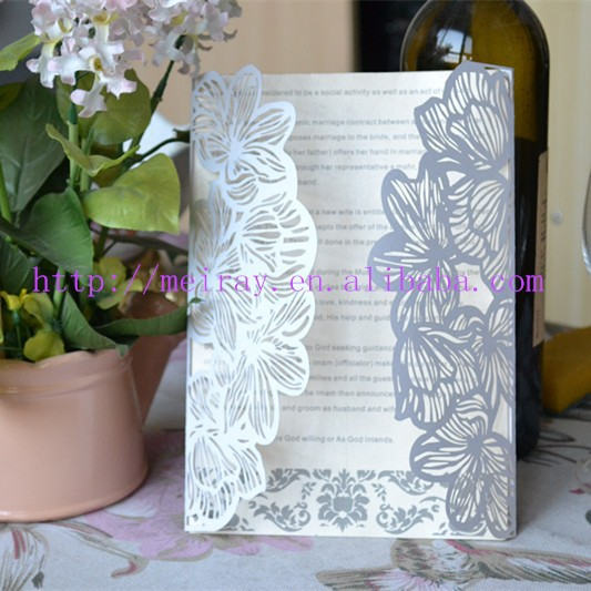 Laser cut invitation cards for chinese new year auspicious clouds other laser cut wedding cards stopboris Gallery
