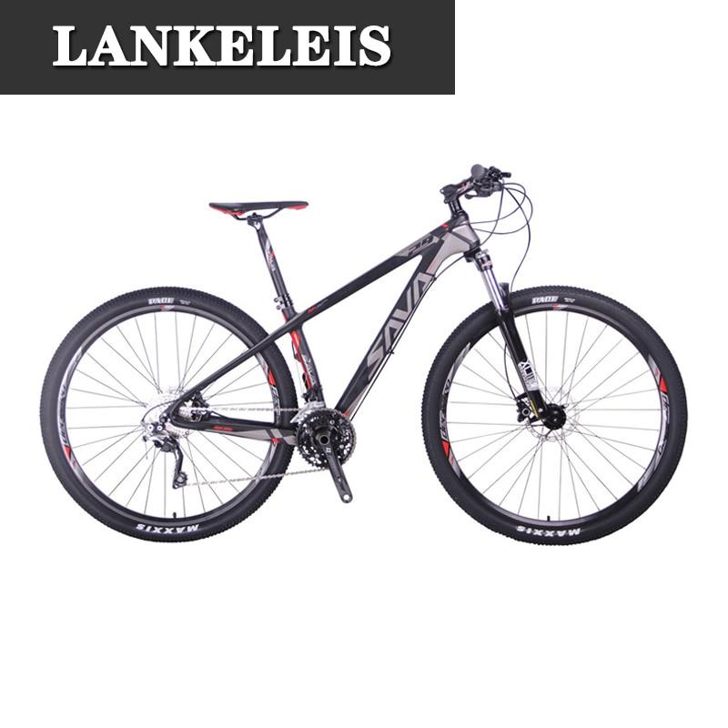2018 deck300 30 vitesse vtt carbone fibre vélo vélo vélo shimano m6000 deore 29 vélo de montagne vélo